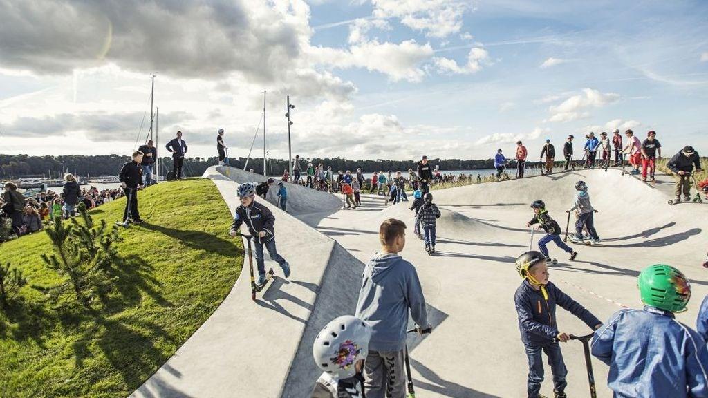 Havnerundfart Lemvig Skatepark