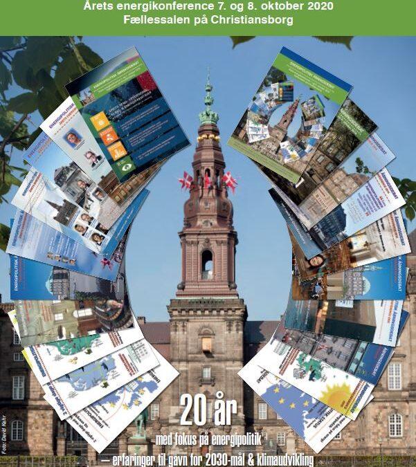 Energipolitisk åbningsdebat 2020 – samspil om klima-, energi- og forsyningspolitik
