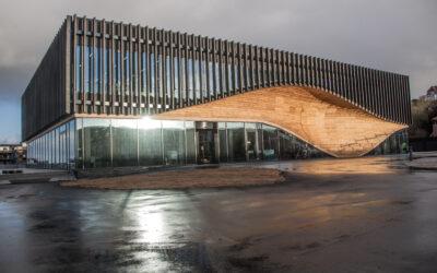 Klimatorium-bygning i Lemvig står klar