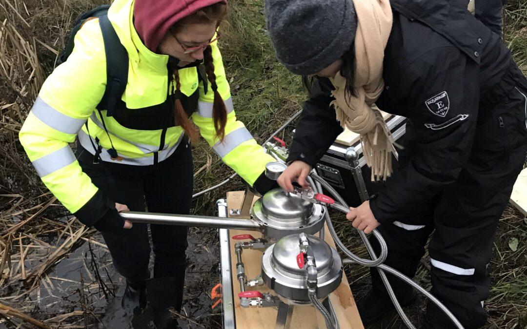 VUDP Mikroplast projektet har udtaget vandprøver fra regnvandsbassinet på Gefionsvej