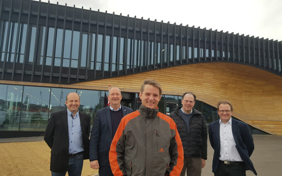Regionsfolk flytter ind i Klimatorium-bygning