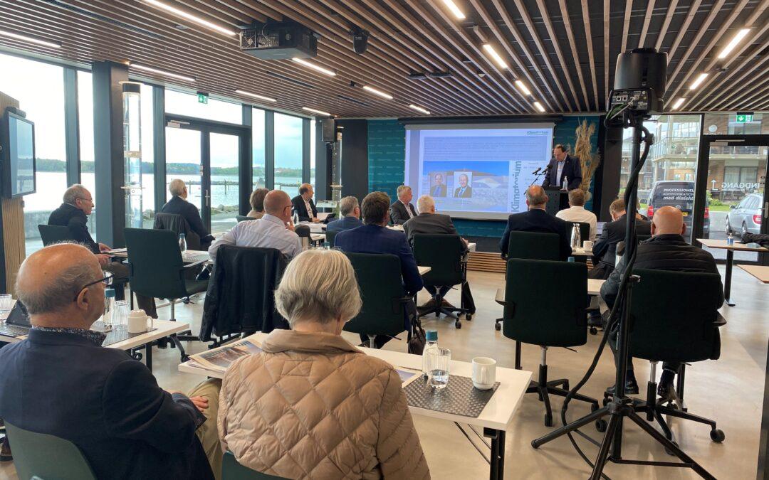 Generalforsamlingen afholdt i Klimatorium