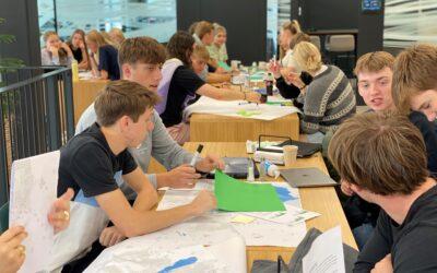 Gymnasium deltager i Klimahackathon på Klimatorium